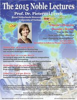 2015 Noble Lectures Poster
