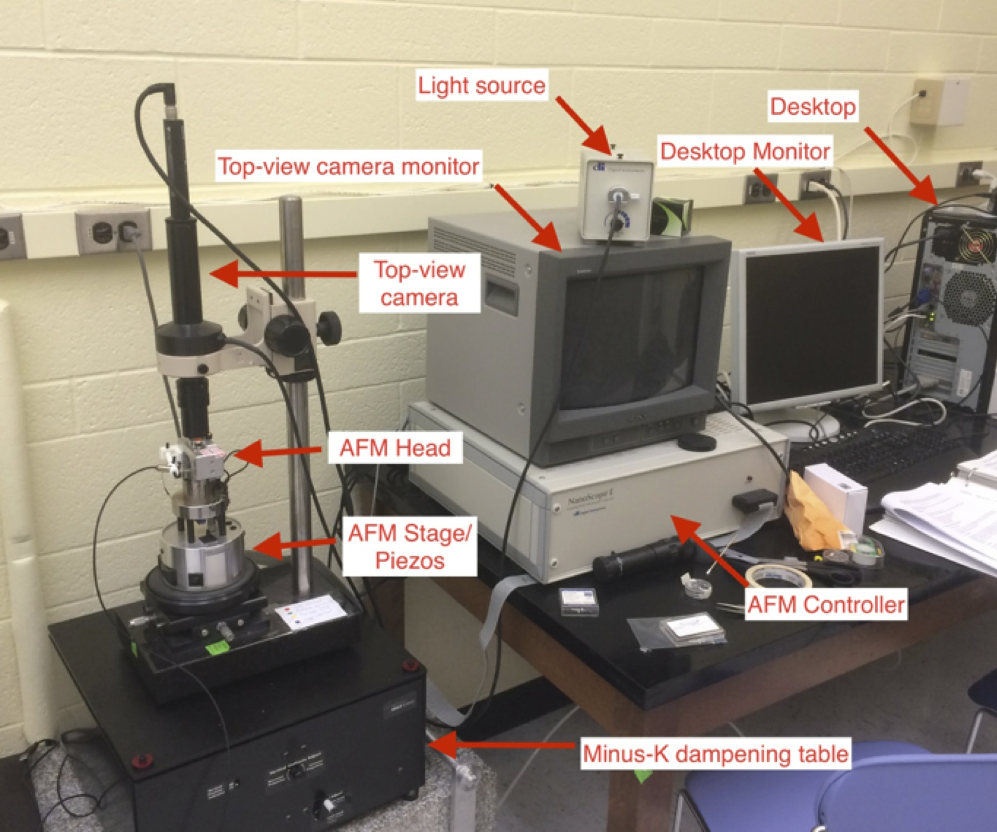AFM: Atomic Force Microscope
